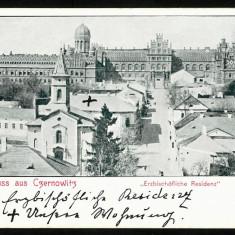 Carte Postala Veche Necirculata 1889 BUKOWINA Bucovina Cernauti CZERNOWITZ, Fotografie