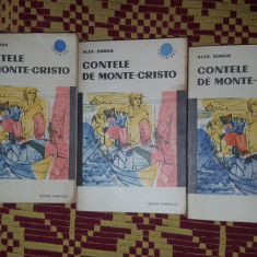 contele de monte cristo 3 volume -dumas