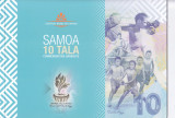 Bancnota Samoa 10 Tala 2019 - PNew UNC ( polimer , comemorativa - in folder )