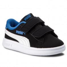 Adidasi Puma Smash V2 Buck Jr-Adidasi Originali-Adidasi Copii-365184-04, Unisex, 21 - 24, 26