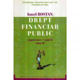 Drept financiar public - suport curs - anul II - sem. II