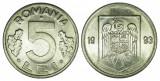 Z201 ROMANIA 5 LEI 1993 aUNC APROAPE NECIRCULATA, Cupru-Nichel