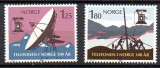 NORVEGIA 1980, Aniversari - 100 de ani telefonie, serie neuzata, MNH