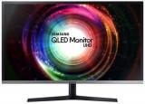 Monitor VA QLED Samsung 31.5inch LU32H850UMUXEN, Ultra HD (3840 x 2160), HDMI, DisplayPort, 4 ms (Negru)