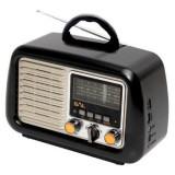 Cumpara ieftin Radio portabil retro, SAL, RRT2B, MP3, SD, USB, Bluetooth, Aux, 3 benzi