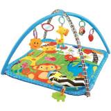 Centru de joaca cu pernita Sun Baby Zoo