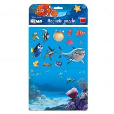 Puzzle magnetic Nemo Dino Toys, 17 piese, 3 ani+