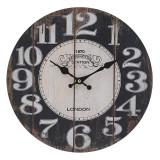 Cumpara ieftin Ceas perete din lemn culoarea maro diametru 34 cm
