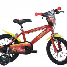 Bicicleta copii 14'' CARS PlayLearn Toys