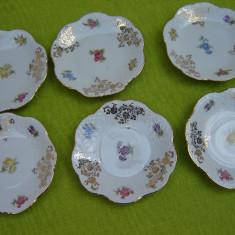 Superb set de 6 farfurioare, portelan vechi de marca Bavaria