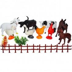 Figurine animale domestice, 9 buc/set
