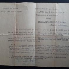 Brevet provizoriu conferit pentru Crucea Meritul Sanitar Cl.II-a