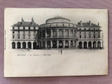 Carte postala necirculata - Teatrul din RENNES, Franta, perioada anilor 1900, Printata