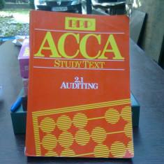 ACCA Study text (ACCA Text de studiu)