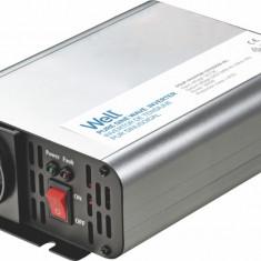 Invertor de tensiune 12V 230V 300W Well