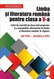 Limba și literatura română pentru clasa a V-a. Caiet de exerciții