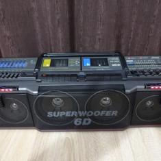 Radiocasetofon boombox Silva/Uher