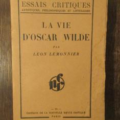 LA VIE D'OSCAR WILDE-LEON LEMONNIER
