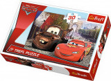 Cumpara ieftin Puzzle Trefl 30 Bucsa Si Fulger Mcqueen In Europa