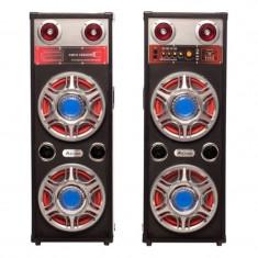 Boxe bluetooth Ailiang USBFM-623-DT, radio, USB, 2 x 175 W, telecomanda
