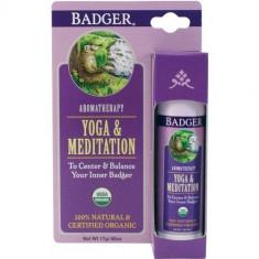 Balsam aromaterapie, Yoga si Meditatie, Badger, 17 g