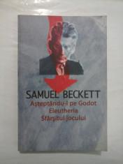 ASTEPTANDU-L PE GODOT ELEUTHERIA SFARSITUL JOCULUI - SAMUEL BECKETT foto