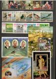 Manama.Lot peste 320 buc. timbre+216 buc. colite/minicoli stampilate DL.88, Asia