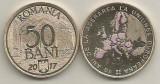 50 bani 2017 10 ani de la aderarea la UE