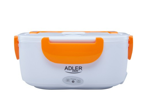 Cutie Electrica Portabila Adler Lunchbox pentru Incalzirea Mancarii, Culoare Portocaliu