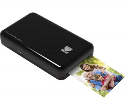 Kodak Mini 2 - Imprimanta Foto Portabila, Negru foto