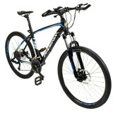 Cumpara ieftin Bicicleta MTB, roti 26 inch, 27 viteze S-RIDE, frane disc, furca cu suspensii, Phoenix