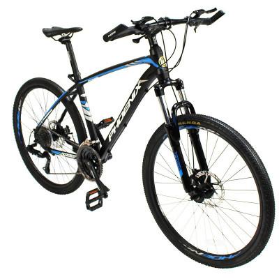 Bicicleta MTB, roti 26 inch, 27 viteze S-RIDE, frane disc, furca cu suspensii, Phoenix foto