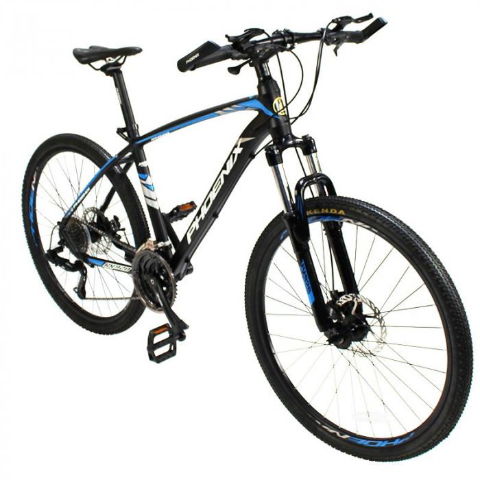 Bicicleta MTB, roti 26 inch, 27 viteze S-RIDE, frane disc, furca cu suspensii, Phoenix