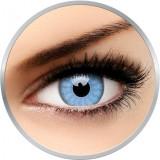 Crazy Solar Blue - lentile de contact colorate albastre anuale - 360 purtari (2 lentile/cutie)