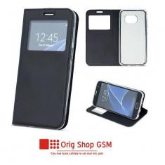 Husa flip carte smart look iphone 7/8 (4,7inch ) negru