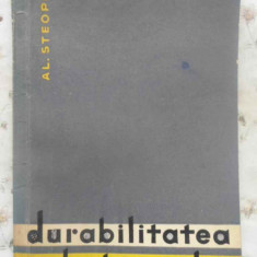 DURABILITATEA BETOANELOR - AL. STEOPOE