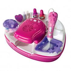 Set pentru decorarea unghiilor Girlz, 6 ani+