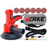 Cumpara ieftin Slefuitor pentru pereti cu sistem aspirare 1350W 180mm V08201 Verke