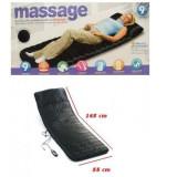 Saltea pentru masaj cu telecomanda si incalzire infrarosu, Massage 9, Oem