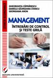 Cumpara ieftin Management - Intrebari de control si teste grila