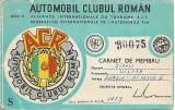 Legitimatie ACR perioada comunista