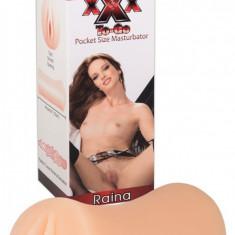 Masturbator Realistic Raina Poket Size