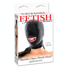 Masca Fetish Spandex open mouth hood - Pipedream