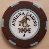 Jeton Athena Casino 100 Euro J