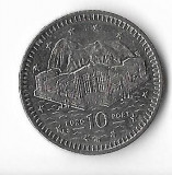 Moneda 10 pence 2001 - Gibraltar
