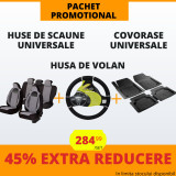 Pachet Promotional Huse Scaune & Husa Volan & Covorase PP15
