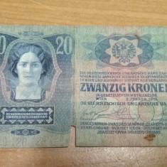 Bancnota zwanzig Kronen 2. Janner 1913 #40968