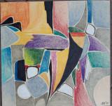 ELENA CRISTEA - VENETIANA, Abstract, Ulei, Altul