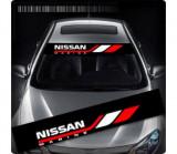 Sticker parasolar auto NISSAN