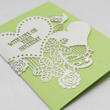 Felicitare - Birdie Green Happy Birthday | Alljoy Design